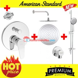 American Standard new Shower tanam inwall 2 in 1 hot cool slide bar