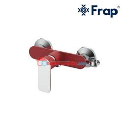 FRAP Kran Shower Mixer PANAS DINGIN IF 2002-7 RED anti karat garansi 5 tahun