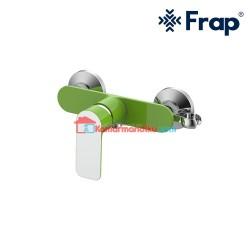FRAP Kran Shower Mixer PANAS DINGIN IF 2002-9 GREEN anti karat garansi 5 tahun