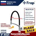 Frap kran dapur kitchen sink Angsa fleksibel IF 4621 antikarat garansi 5 tahun