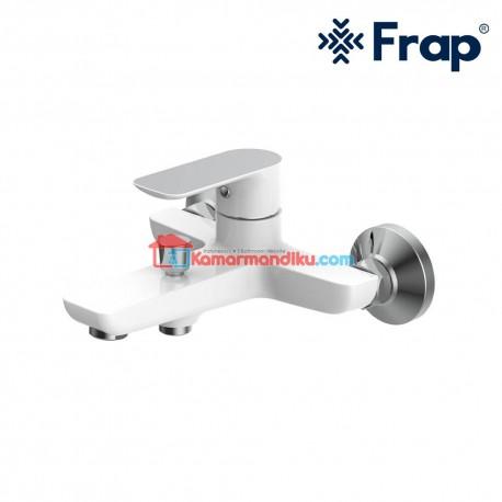 FRAP Keran Shower Mixer PANAS DINGIN IF 3002-8 Warna WHITE Premium garansi 5 tahun