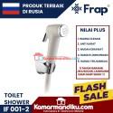 Frap Toilet Shower Set semprotan toilet IF 001-2 warna cream
