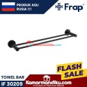 Frap gantungan handuk towel bar IF 30209 Black premium anti karat