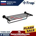 Frap gantungan handuk towel rack IF 30224 Black premium anti karat