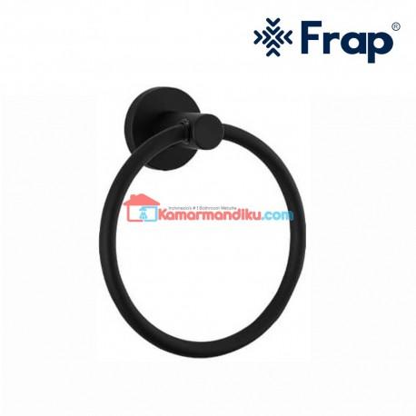 Frap gantungan handuk towel ring IF 30204 Black premium anti karat