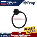 Frap gantungan handuk towel ring IF 30204 Black premium anti karat