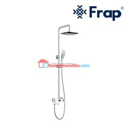Frap rainshower set with shower mixer IF 2402 shower complete set