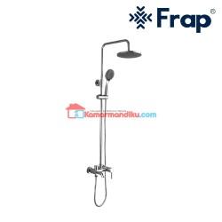 Frap Paket lengkap rainshower dan shower mixer IF 2406 anti karat