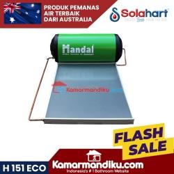 Solahart handal green pemanas air H 151 Eco kapasitas 150 liter