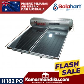 Solahart handal pemanas air tenaga surya H 182 PQ tanpa listrik