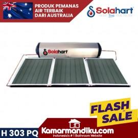 Solahart handal pemanas air tenaga surya H 303 PQ tanpa listrik