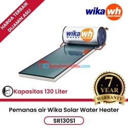 Pemanas air solar water heater Wika SR130S1 garansi 7 tahun