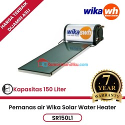 Pemanas air wika solar water heater SR150L1 garansi 7 tahun