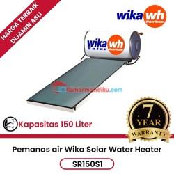 Pemanas air solar water heater wika SR150S1 garansi 7 tahun