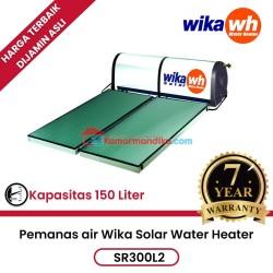 Pemanas air solar water heater wika SR300L2 garansi 7 Tahun