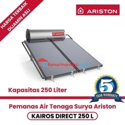 Pemanas air solar water heater ariston kairos direct 250 liter garansi
