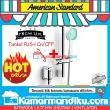 American Standard Easy Flo Keran Shower Exposed Mono Tombol Push on off
