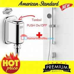 American Standard Easyflo exposed shower Mono set push button on off