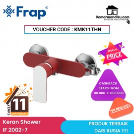 Frap IF 2002-7 Kran shower mixer harga promo anniversary kamarmandiku