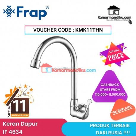 Frap IF 4634 Kran dapur tembok wall sink tap bergaransi produk asli