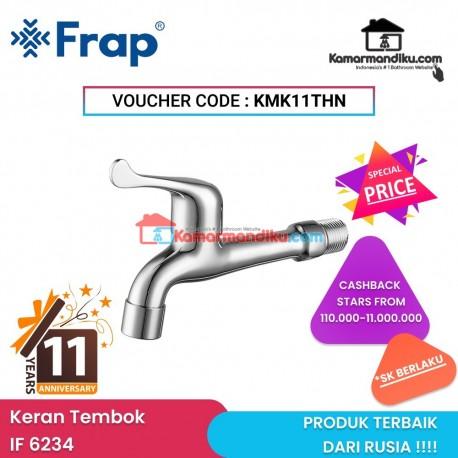 Frap IF 6234 kran air tembok long wall tap produk terbaik Rusia promo