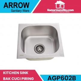 Arrow kitchen sink AGP602B bak cuci piring mewah produk asli