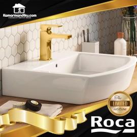 Roca Premium Wastafel Set Gold series limited edition washbasin Khroma