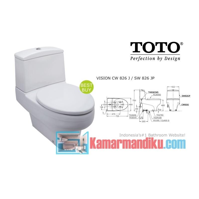 CW 826 J / SW 826 JP - Toko Online Perlengkapan Kamar Mandi & Dapur