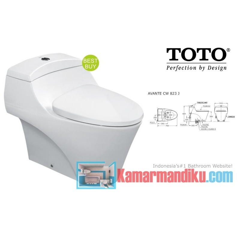 Kloset Toto Seri Cw823j