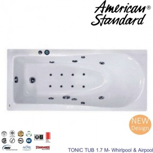 Tonic Tub 1.7m Whirlpool & Airpool