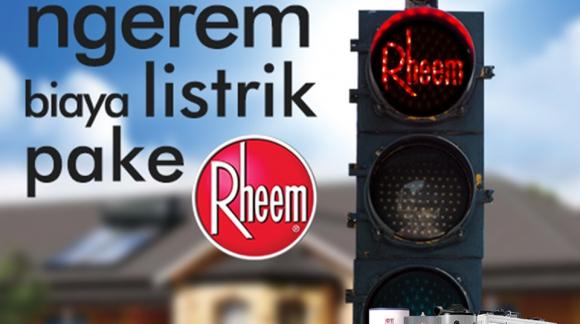 Rheem Solar Water Heater- Tahan segala Cuaca Ekstrem Anti Karat