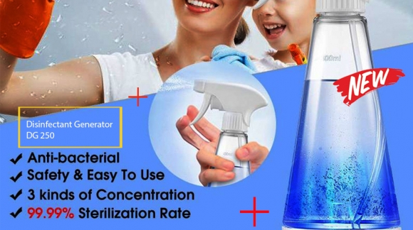 Artugo Sterilisasi sanitizer spray Disinfectant kills bacteria DG 250