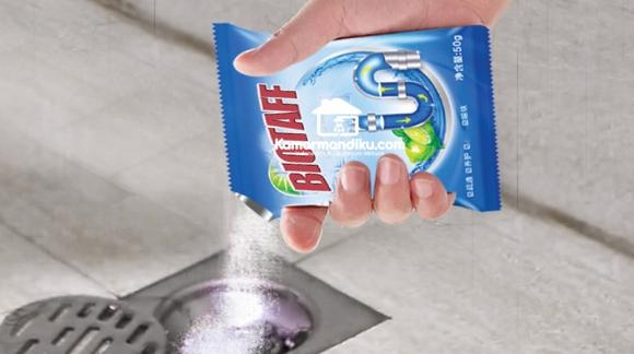 Biotaff Drain Cleaner – Formula Pengurai Ampuh untuk Saluran air yang tersumbat