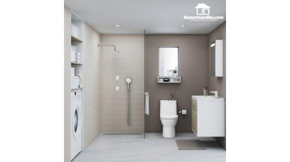 American Standard Easy Flo Collection | Tombol Kran dan Shower Push Button | Kamarmandiku.com